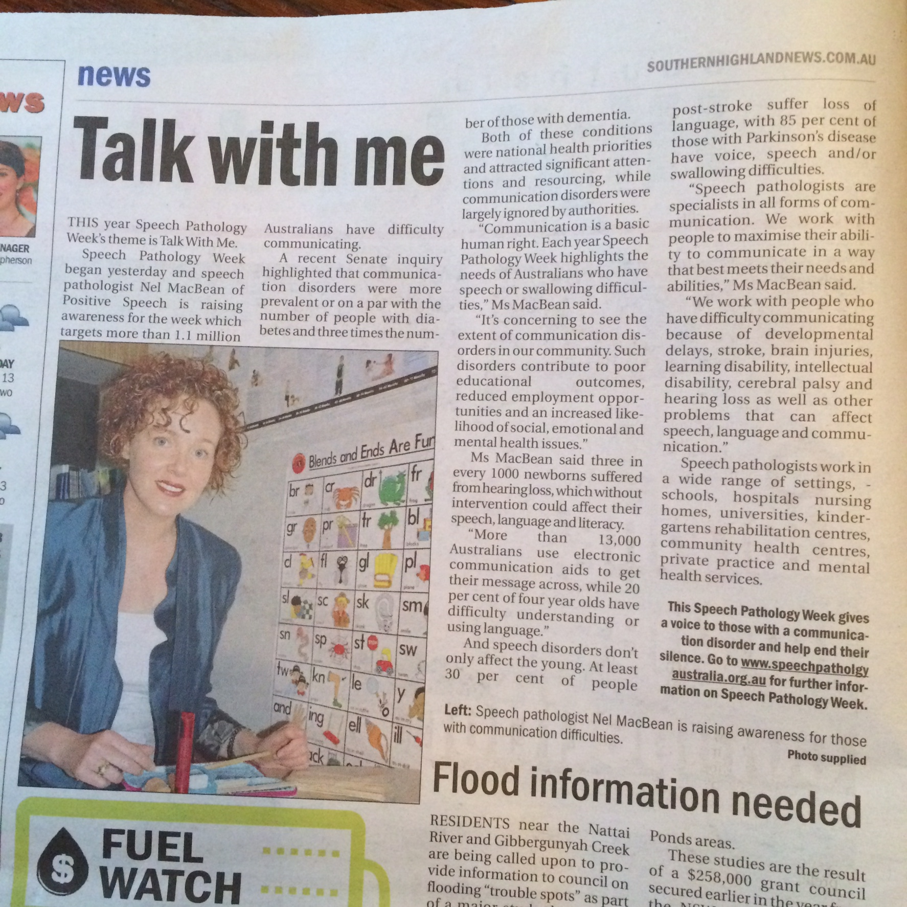 Southern Highland News Talk with me