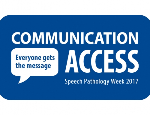 Happy Speech Pathology Week!